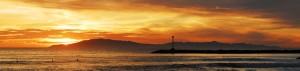 Sunrise over Oxnard Strand